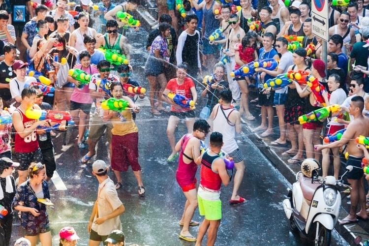 songkran - saker att göra i thailand