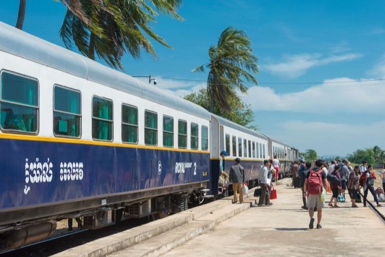 tåg till kambodja