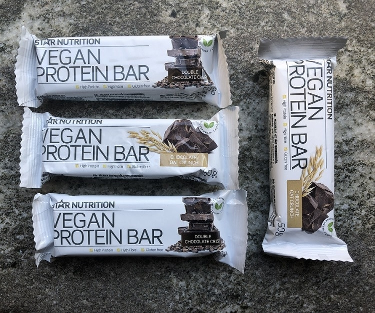 vegansk proteinbar