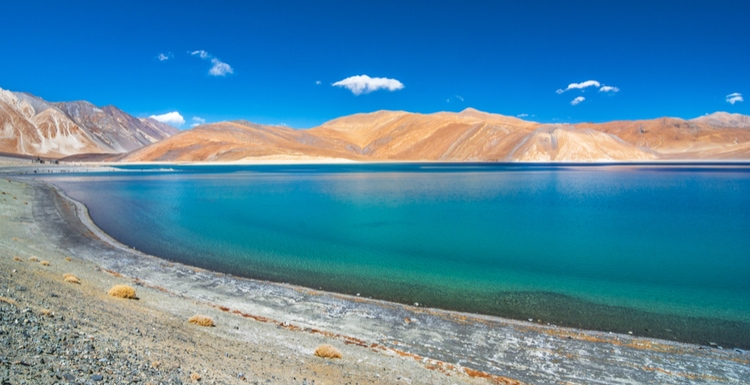Leh is a beautiful place to visit in India