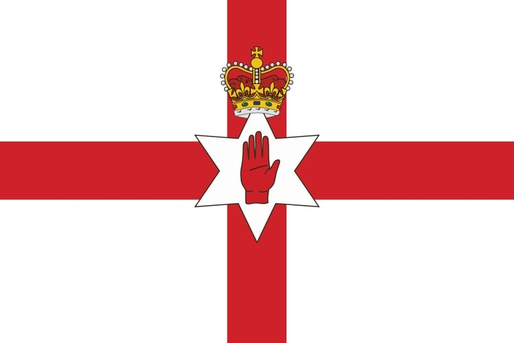Nordirlands flagga