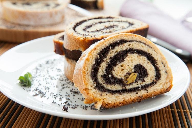 Hungarian poppy seed cake