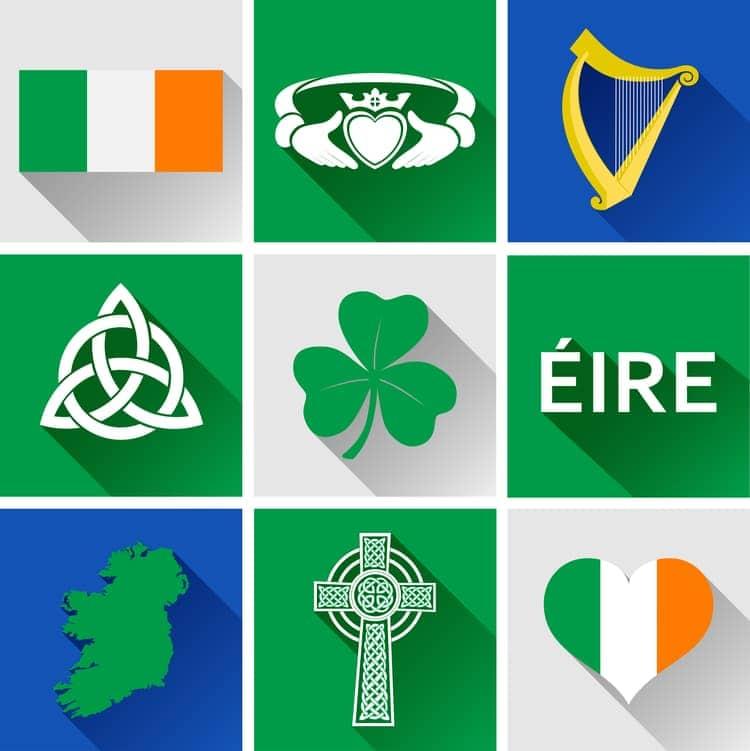 Irländska symboler