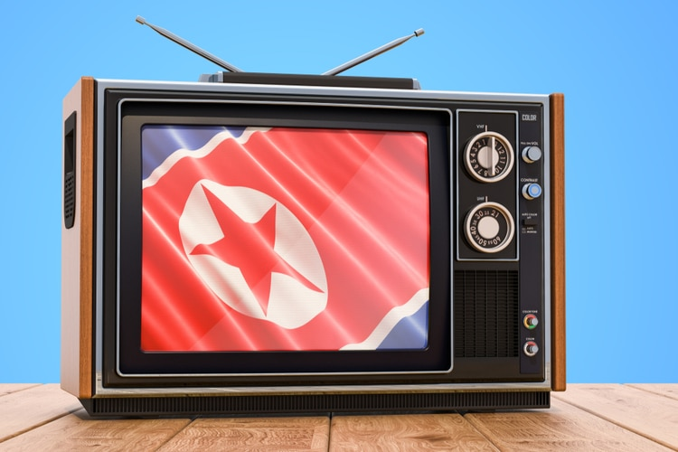 North Korean tv