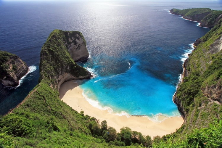 famous bali beach