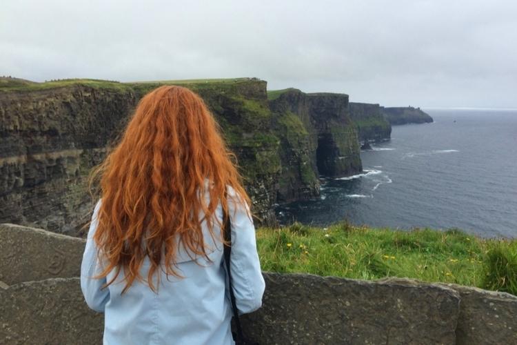 rödhårig irländare