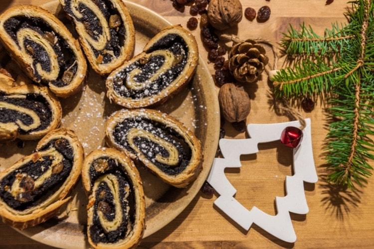 Hungarian christmas food