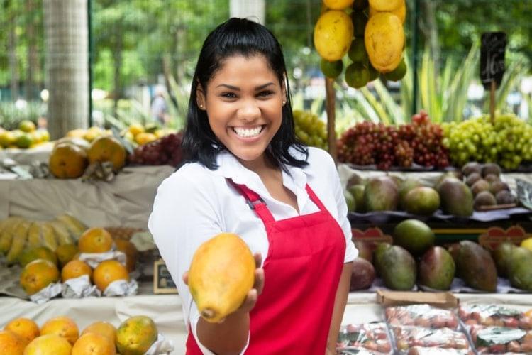 Mexico fruits