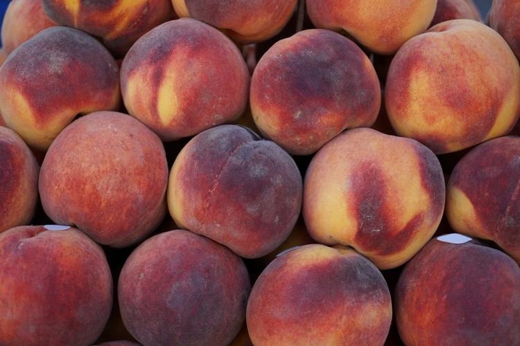 Peaches in Greece
