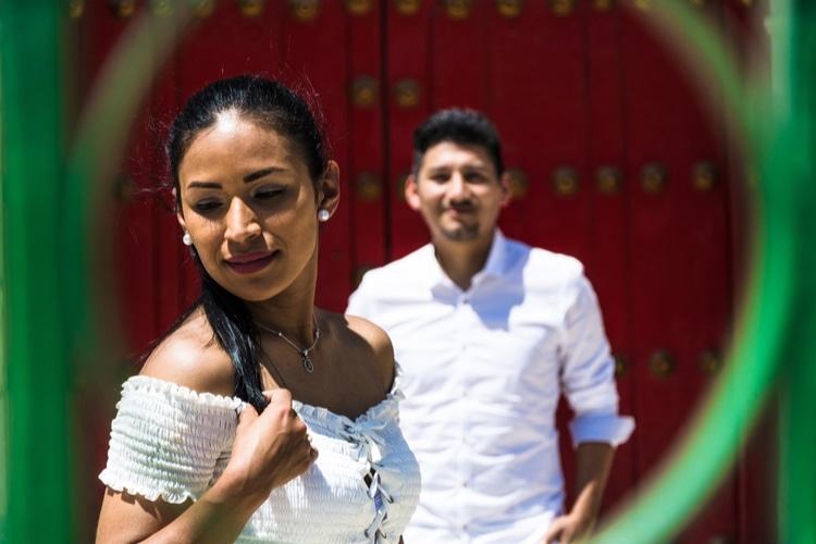 Peruvian couple