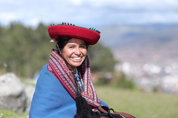 Quechua woman hat