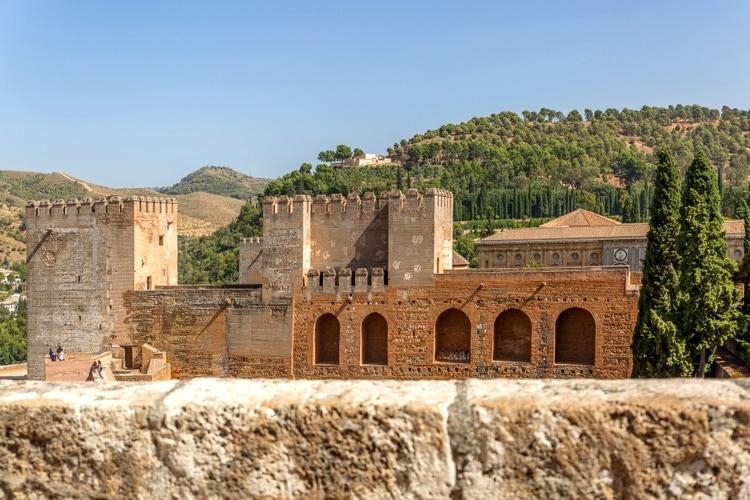 Alcazaba in Alhambra