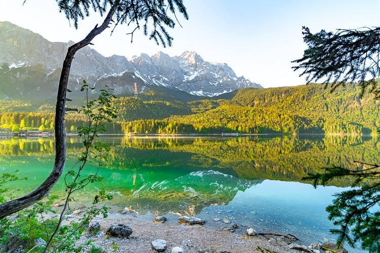 Best time to visit Eibsee