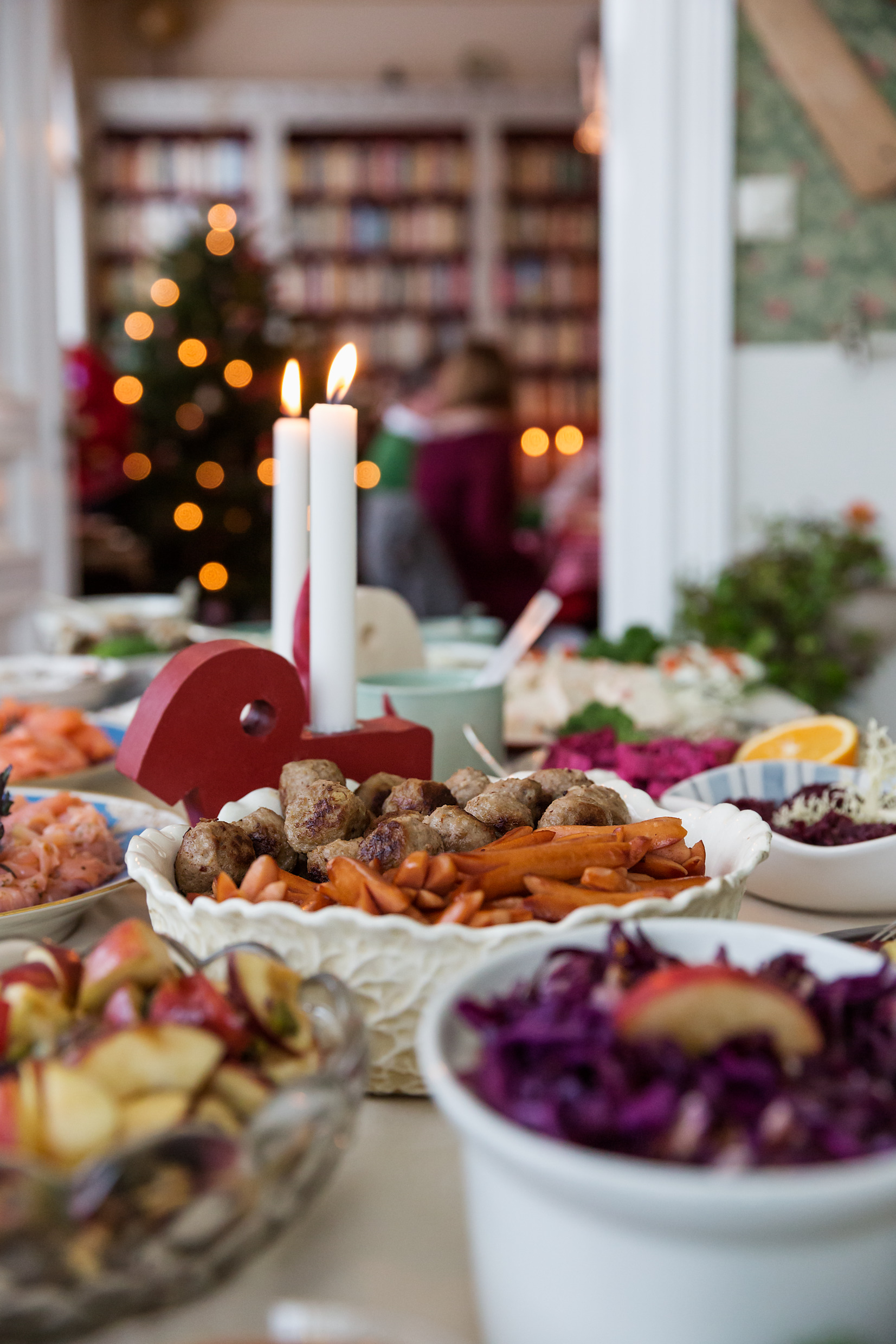 Christmas food in Sweden