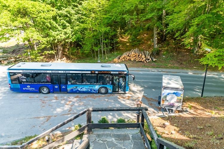 Eibsee bus