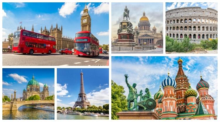 Europas största städer lista