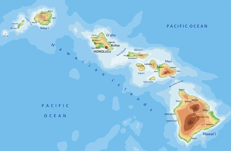 Hawaii karta