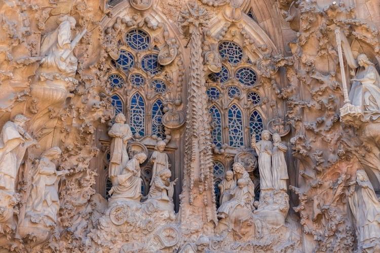 La Sagrada Familia decoration