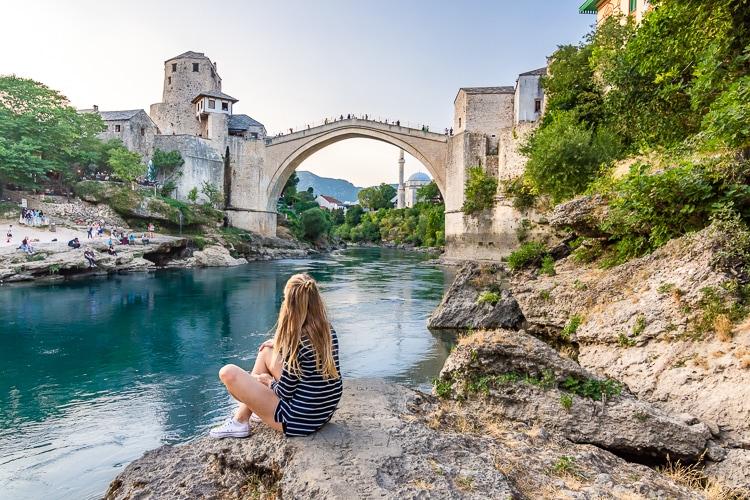 Visiting Mostar in Bosnia & Herzegovina