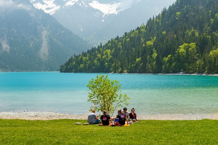 Plansee picnic