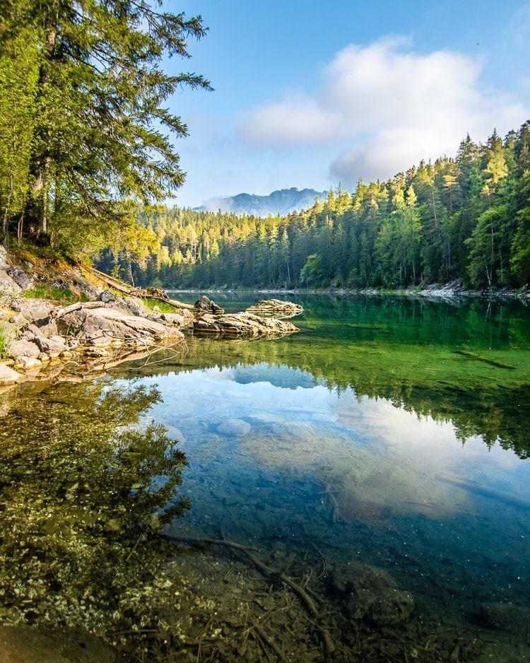 Scenic nature eibsee