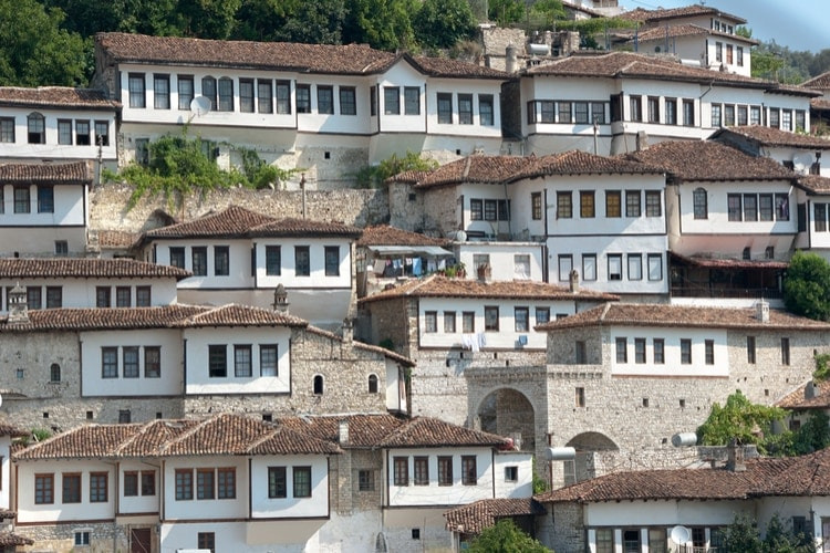 Traditional houses in Berat