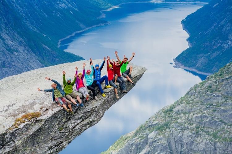 Turister i Norge
