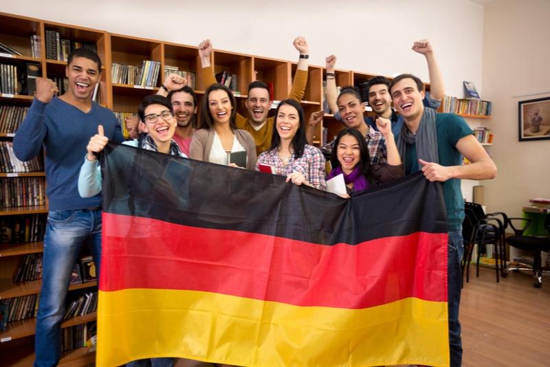 Tyska studenter