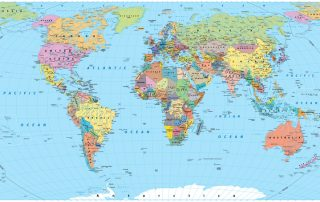 The Largest Countries in the World