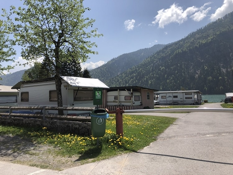 camping plansee