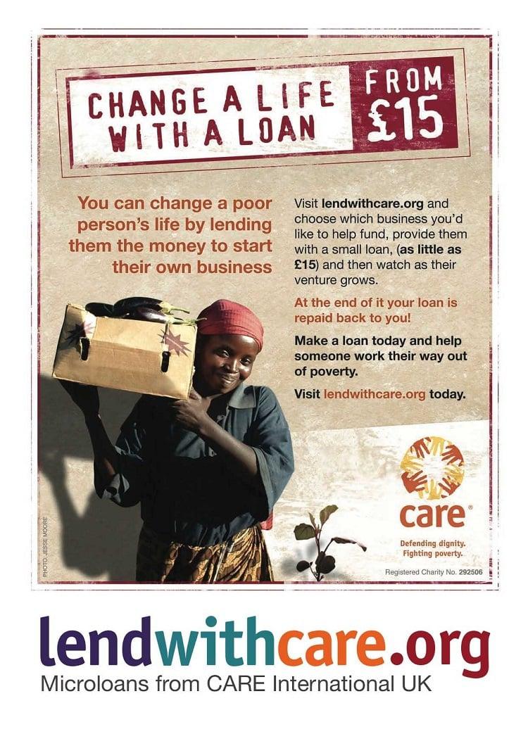 ayudar a las personas de los países más pobres