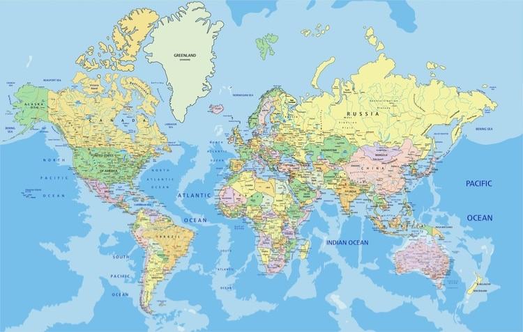 världens länder lista