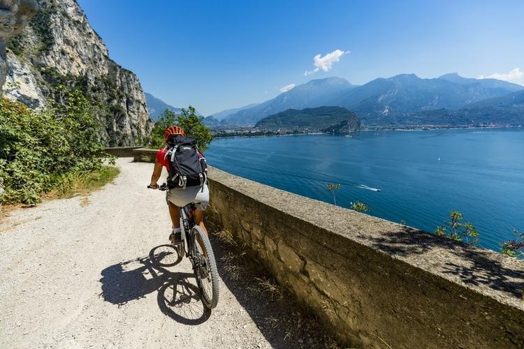 Cykling Gardasjön
