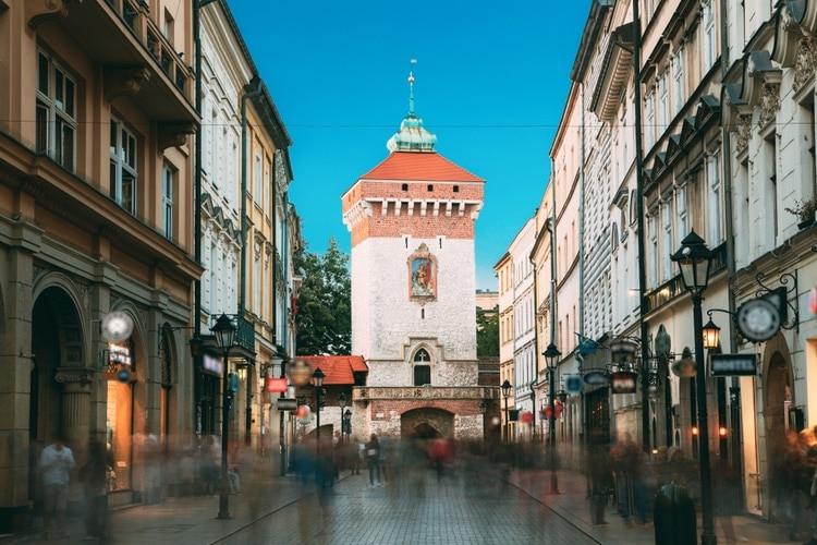 Florianska gate