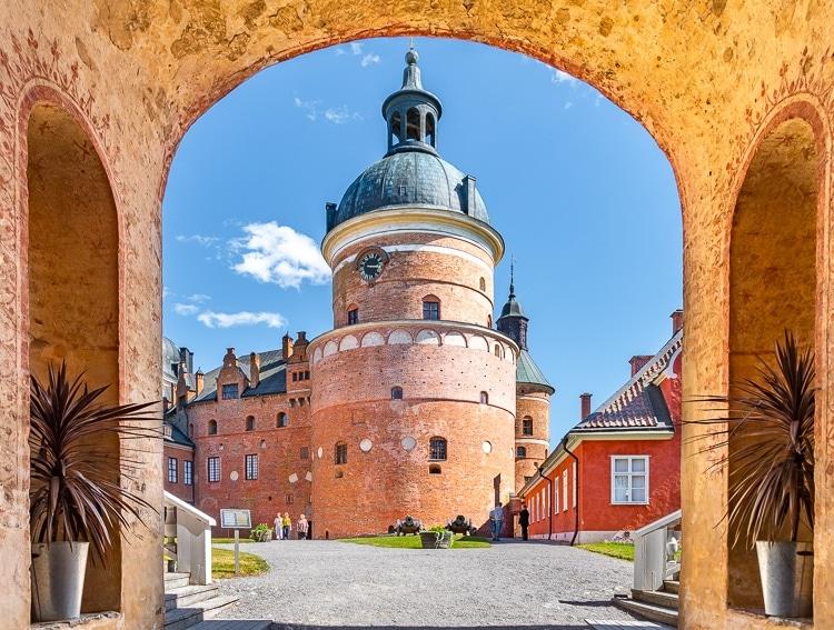 Gripsholms slott innergård