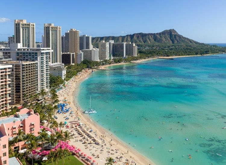 Honolulu in February