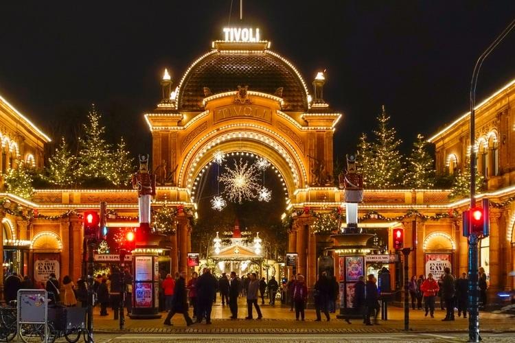Christmas Market Tivoli Gardens