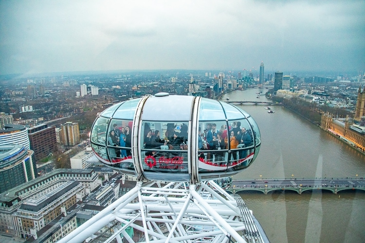 London Eye observationshjul