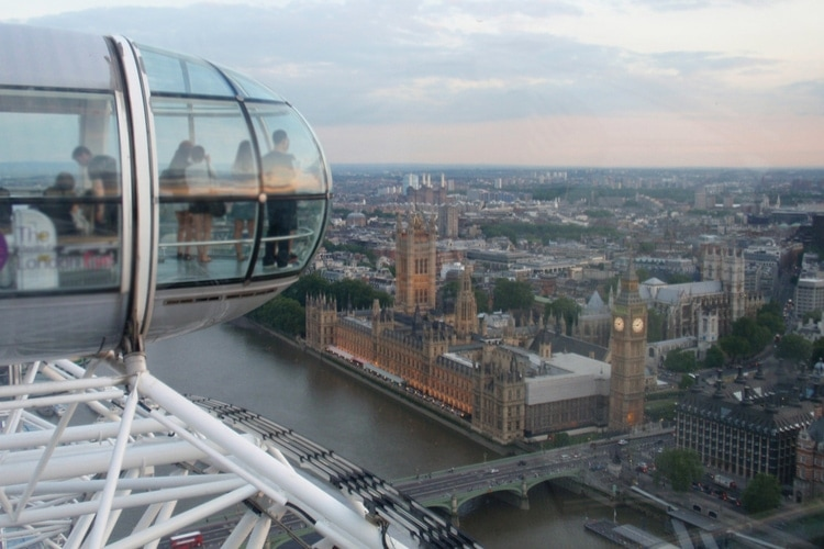 London Eye utsikt