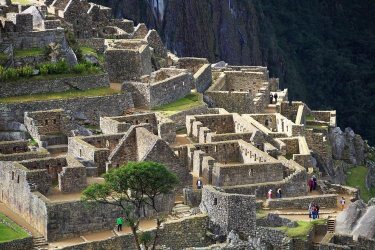 Machu Picchu byggnader