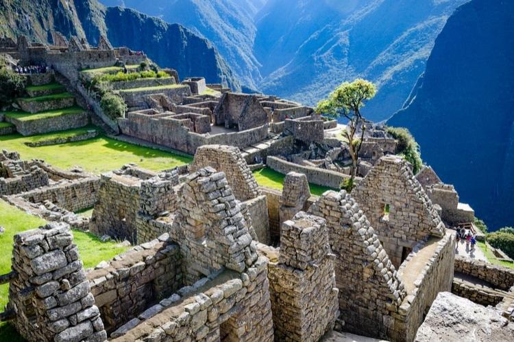 Machu Picchu fakta för barn