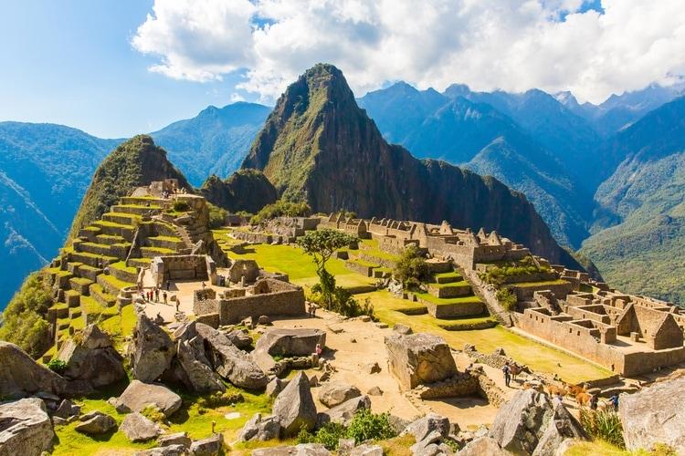 Machu Picchu gammal inkastad