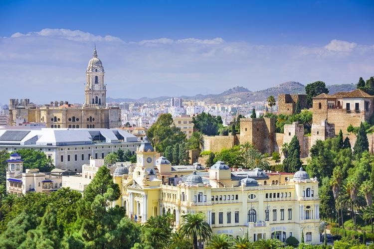 Malaga stad