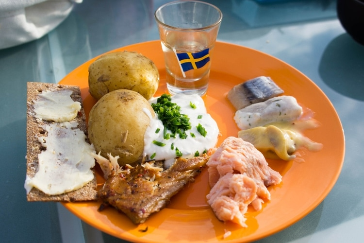 Swedish Midsummer food