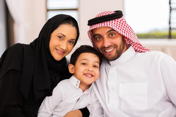 Muslim family (islaminhindi.com)