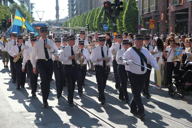 Parad svenska nationaldagen
