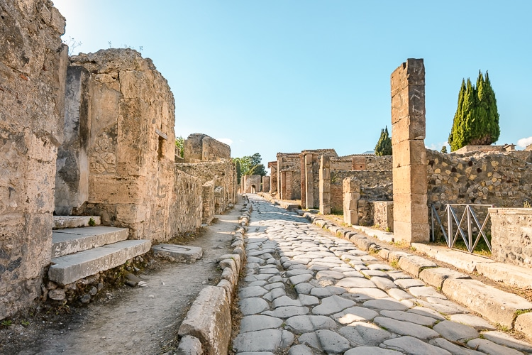 Pompeji gata