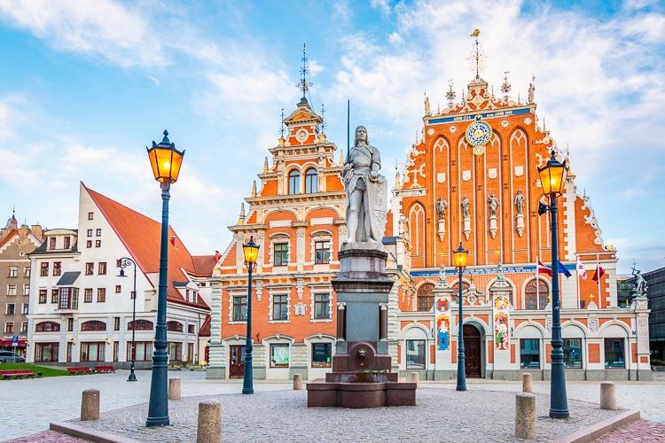 Riga svarthuvudenas hus