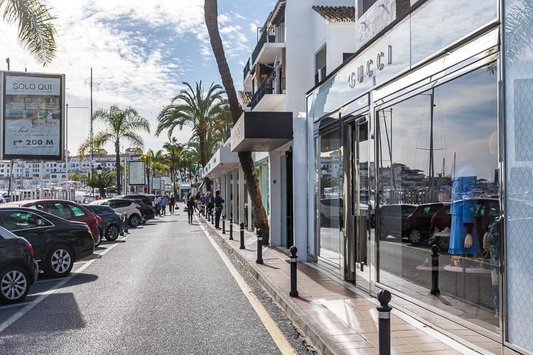 Shopping marbella