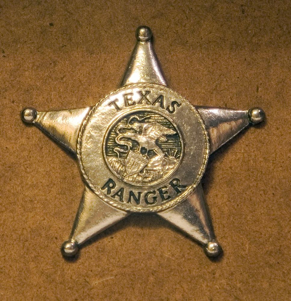 Texas Rangers badge